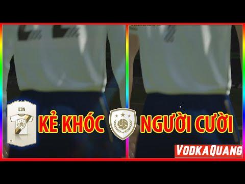 Vodka ICON   Tổng hợp mở thẻ ICON FIFA Online 4 - Kẻ khóc người cười