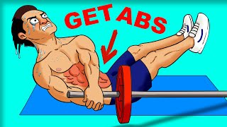 9 BEST Ab Exercises (YOU'VE NEVER DONE!)