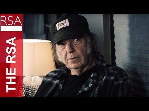 Musician & Activist Neil Young with the RSA