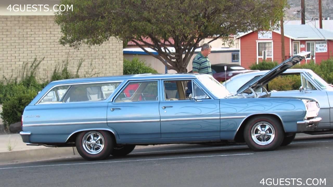 OLD RESTORED CARS AND TRUCKS ~ KINGMAN ARIZONA - YouTube