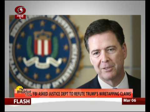 FBI asks Justice Dept to refute Trump's wiretapping claims