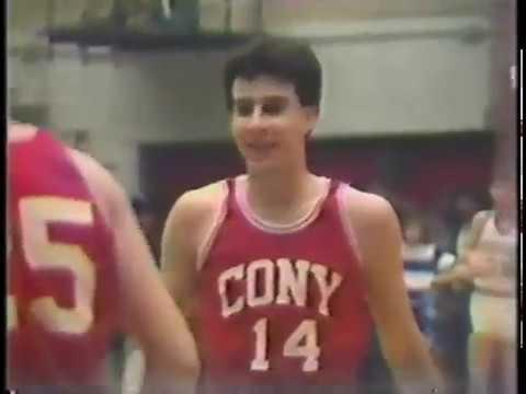 1987 Maine High School Basketball Class A Semi-Finals Cony Rams vs Stearns Minutemen Part 1