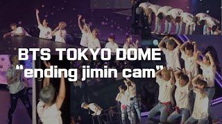 bts tokyo dome ending jimin cam (20181114) 도쿄돔 콘서트 지민캠