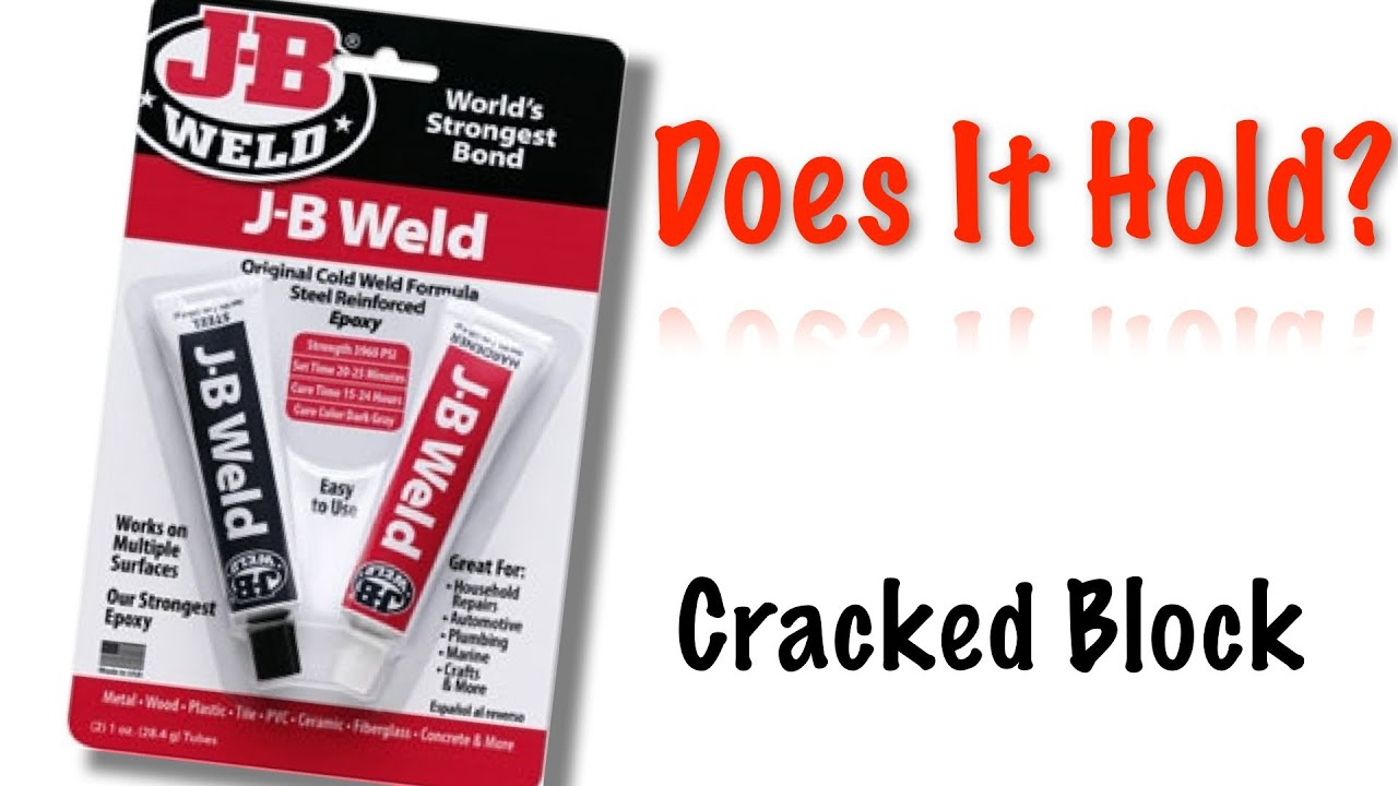 How to fix a cracked block - Jb Weld Cracked Block Follow Up Does That Really Work