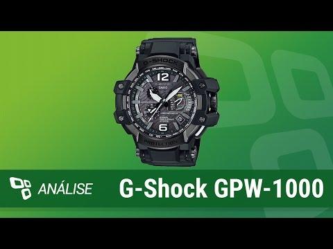 6eb0daa469b4 Relógio Casio G-Shock GPW-1000  Review  - TecMundo - YouTube