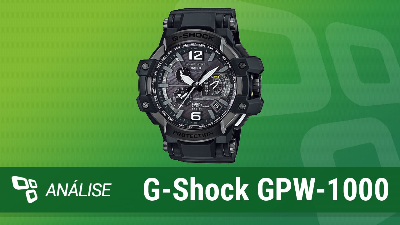 25754f8f2e3 Relógio Casio G-Shock GPW-1000  Review  - TecMundo - YouTube