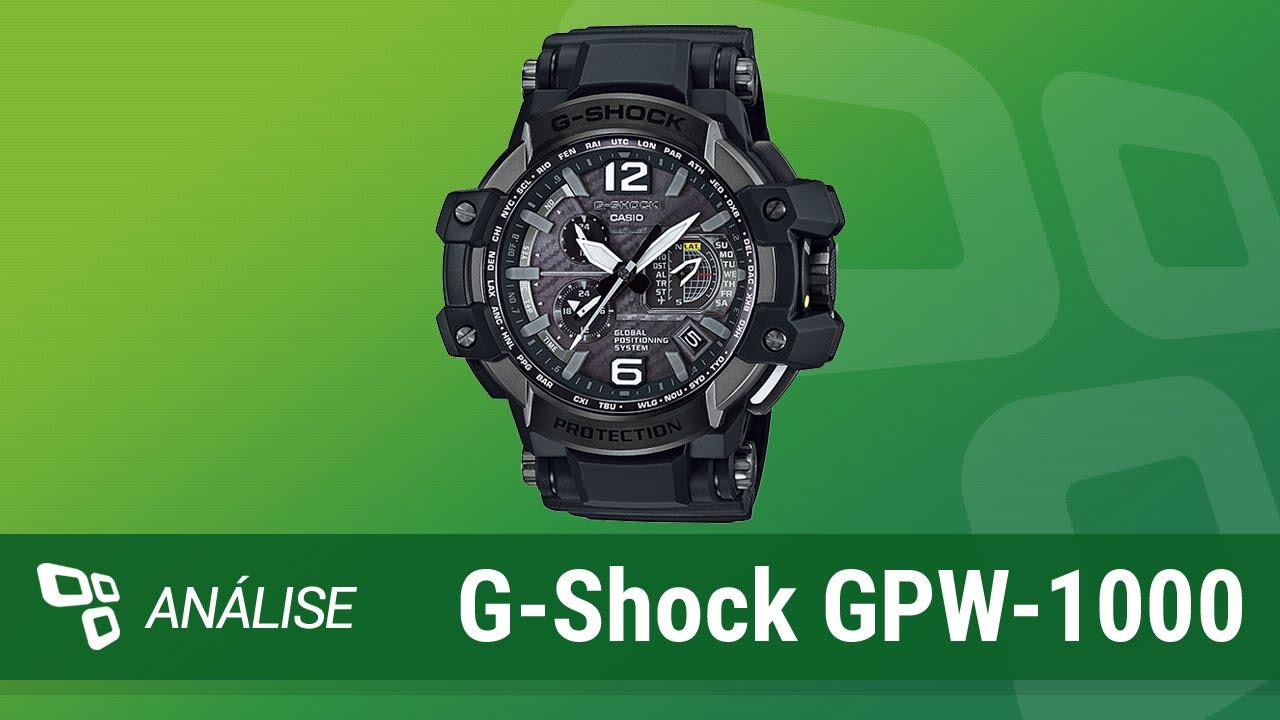 75f941558cd5 Relógio Casio G-Shock GPW-1000  Review  - TecMundo - YouTube