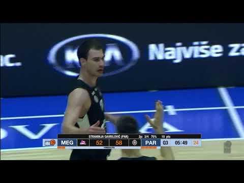 All about Strahinja Gavrilović! (Mega Bemax - Partizan NIS, 11.11.2017)