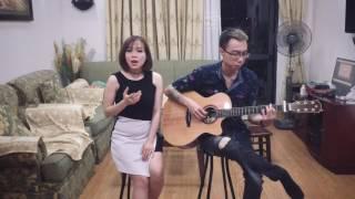 Yêu là Tha Thu  Acoustic guitar Cover  vợ chồng  Tùng acoustic - Dương Thùy Ngân