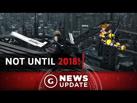Don't Expect Kingdom Hearts 3, Final Fantasy 7 Remake Until At Least 2018 - GS News Update