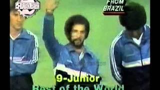 Europa vs Resto del Mundo Friendly Amistoso en USA 1982 Platini, Pele, Beckenbauer, Zico, Socrate