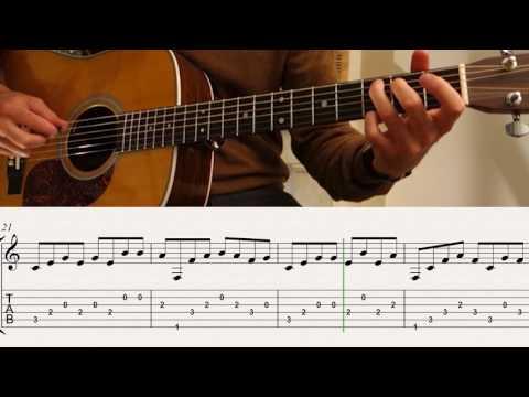 JOHN LENNON/IMAGINE/Ben-T-zik Guitar cover #19 (with nice arpeggios)