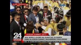 Mga world leader na dumating sa bansa para sa ASEAN Summit, magarbong sinalubong