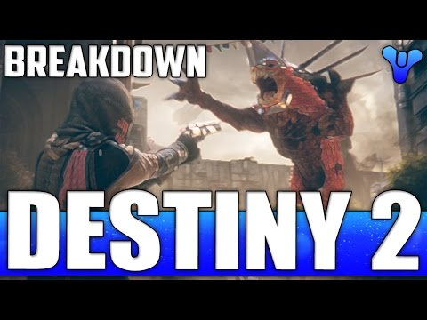 Destiny 2 Trailer Breakdown - New Raid Boss, New Weapons, Abilities & Gameplay Reveal!