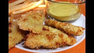 Oven Baked Chicken Fingers Recipe - Tasty Finger Food! - Episode # 248