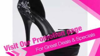 Star Platform Prom Shoes by Allure Night Moves Footwear