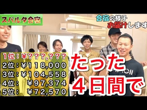 たった4日で利益10万円超え多数!!一週間の物販合宿 in お盆/副業・在宅・ネット