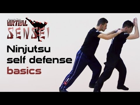 Ninjutsu self defense basics - Joseph Arlettaz - Global Combat Reaction