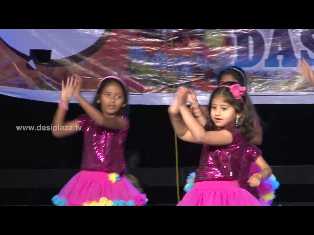 Medley performance by Kids at DATA Bathukamma & Dasara Panduga Celebrations 2016