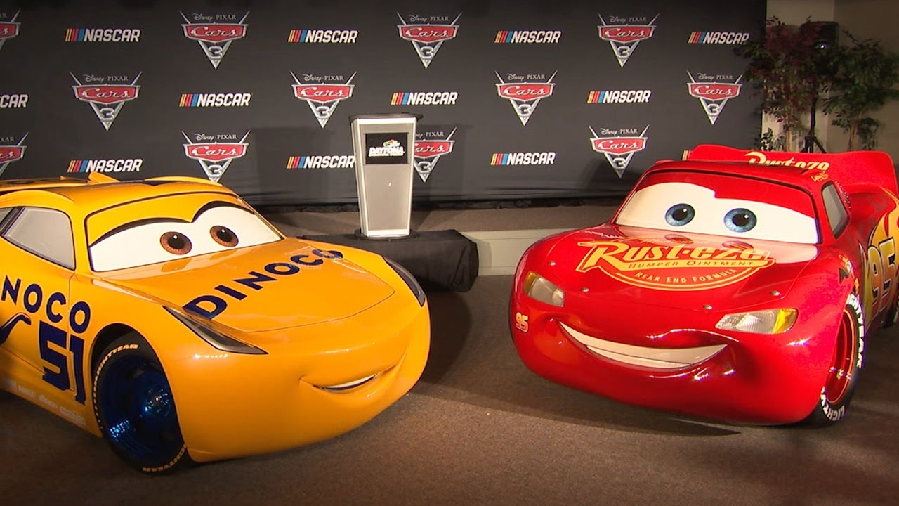 cars 3 nascar announcement