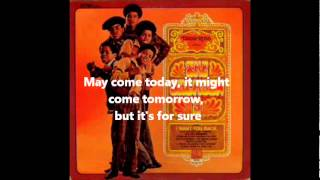 Standing in the Shadows of Love - The Jackson 5 (music and lyrics)