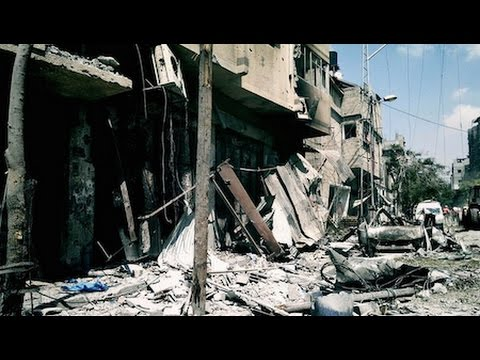 """""""We Are Going through Hell"""" - Report from Gaza"""