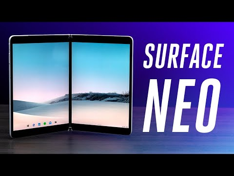 Surface Neo first look: Microsoft's dual-screen prototype