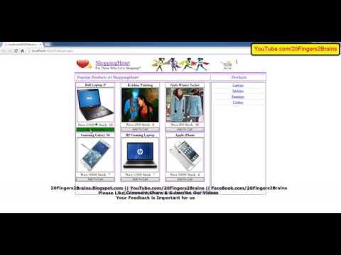 Part 12 Asp Net C Webshop Shopping Cart Source Code Free Download Live Project