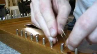 A Psimple Psaltery: Tying a String to the Hitch Pin