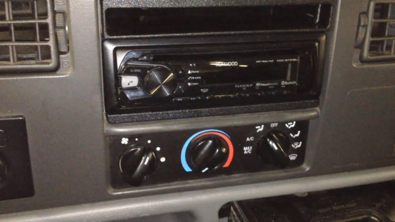 ford superduty 4x4 inop heater stuck on defrost fix [ 1280 x 720 Pixel ]