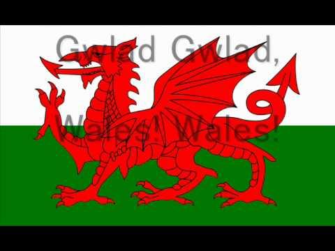 welsh national anthem with lyrics