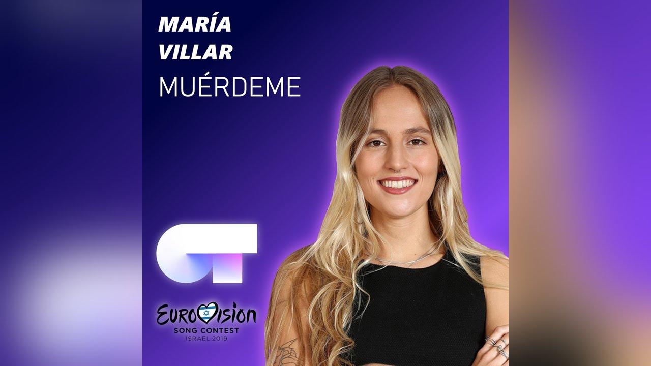MUÉRDEME (AUDIO OFICIAL) - María Villar | Eurovisión 2019