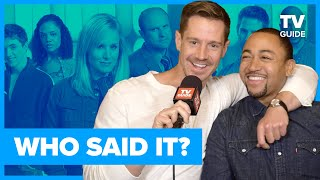 Veronica Mars Cast Plays Who Said It?