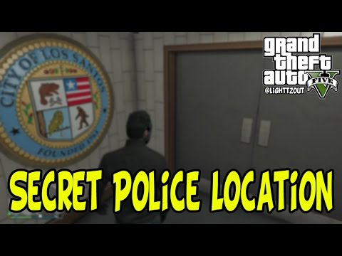 GTA 5 Online - How To Get Into Police Station After Patch