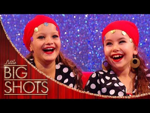 Spanish Flamenco Dancers Can't Stop Laughing! | Little Big Shots