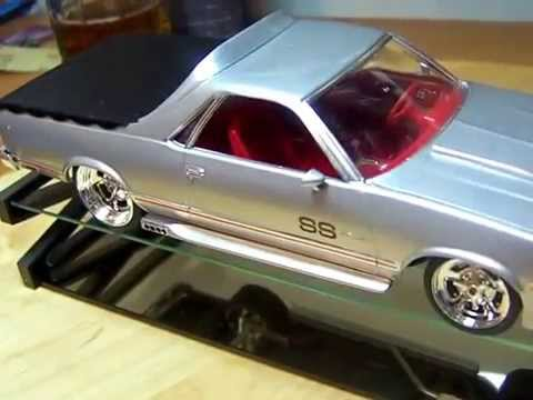 Scale Model Car 86 Chevy El Camino Ss Final Build Youtube