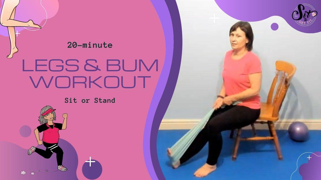 20-minute Leg & Bum Workout
