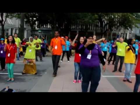 Putrajaya Flash mob I'm for you (02.12.12)
