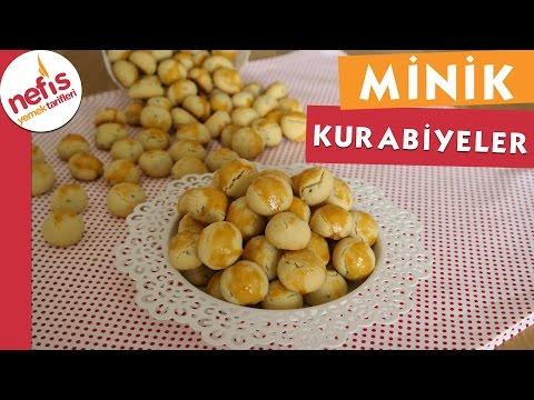 Minik Kurabiyeler - Kurabiye Tarifleri - Nefis Yemek Tarifleri
