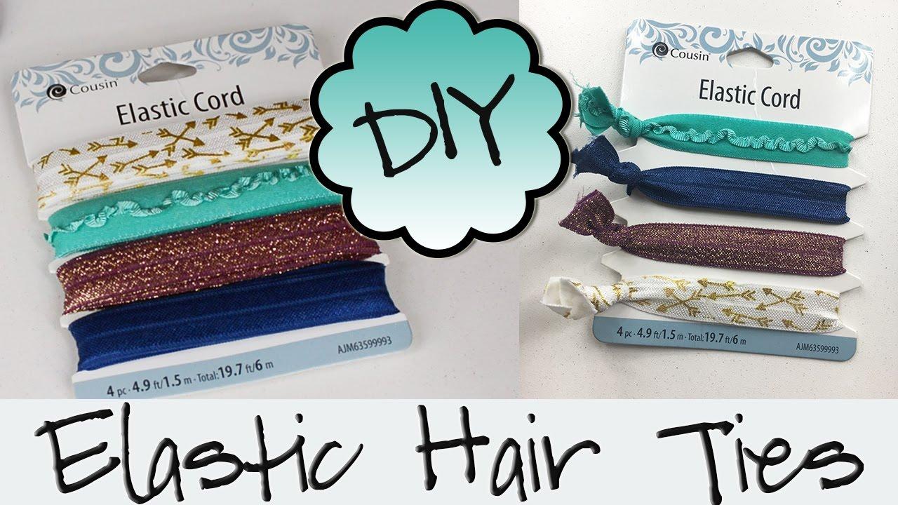 DIY Hair Ties  dbaf677ee9e