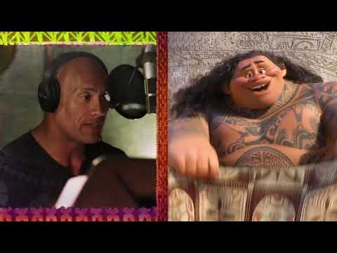You're Welcome - Behind the Scenes - Dwayne Johnson (The Rock)