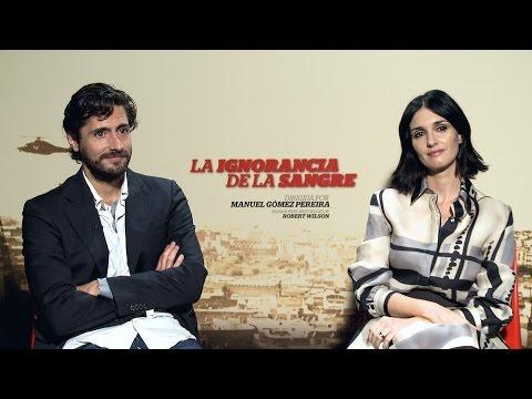 """Paz Vega y Juan Diego Botto, entrevista """"La ignorancia de la sangre"""""""