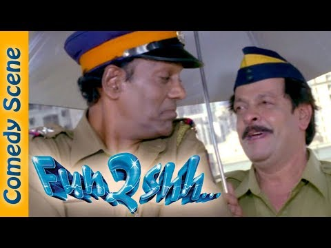 Most Viewed Comedy Scene - Fun2shh Movie  Scene - Kader Khan - Paresh Rawal - #Indian Comedy