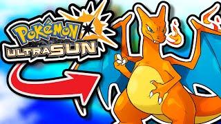 Pokémon Ultra Sun Harḋcore Nuzlocke - FIRE Type Pokémon Only! (No items, No overleveling)