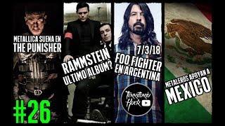 NOTICIAS Rock/Metal #26: FOO FIGHTER, RAMMSTEIN, videos nuevos y más | Territorio Rock1