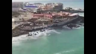 Plane Landing in Princess Juliana Airport SXM After Hurricane IRMA !! St Maarten