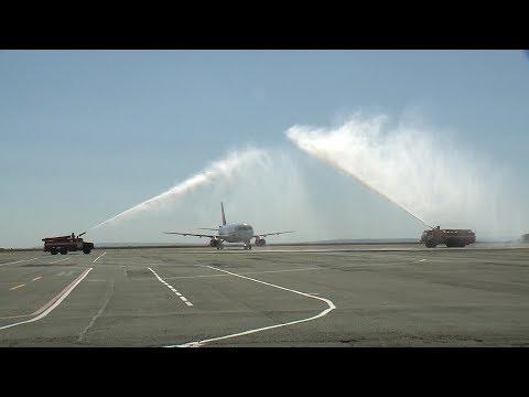 В Ставрополе возобновили прямые авиарейсы в Ереван.