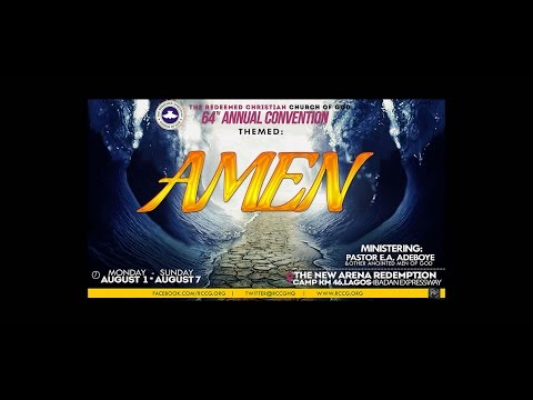 DAY 5 EVENING SESSION - HOLYGHOST SERVICE - RCCG CONVENTION 2016 - AMEN