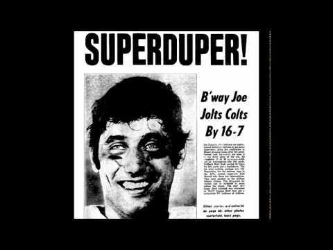 Super Bowl III-Complete WNBC Radio Broadcast (Namath's Guarantee!)
