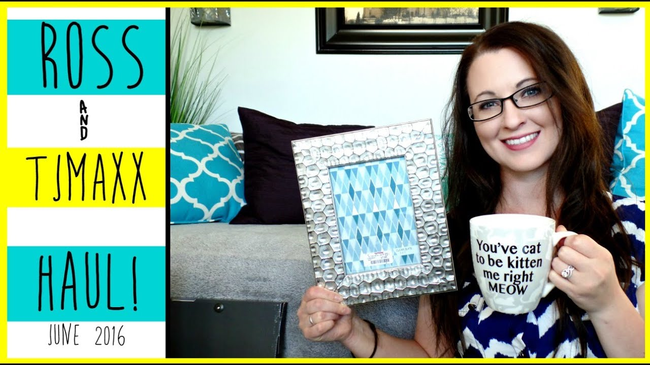 Ross Tjmaxx Haul Silver Grey Blue Home Decor June 2016